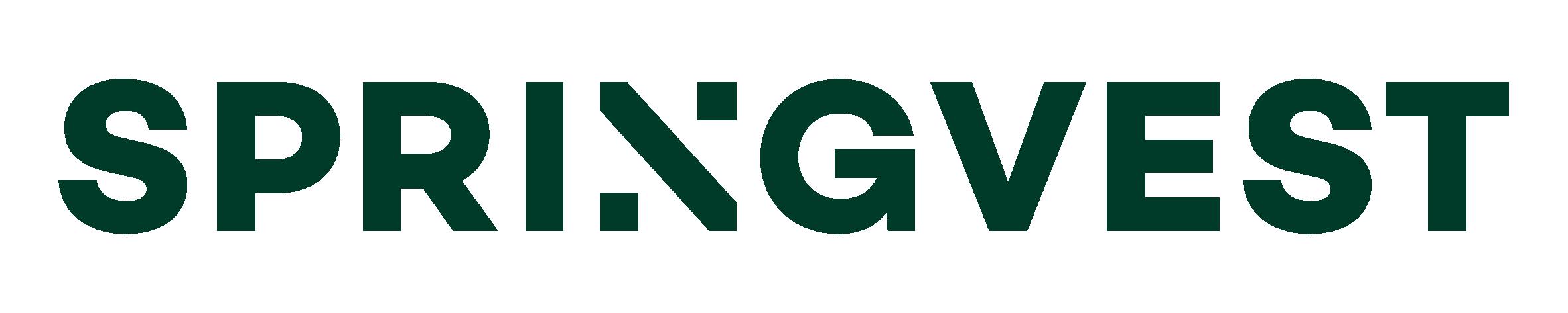Springvest logotype green rgb